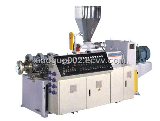 Twin Conical ( parallel ) Screw Extruders