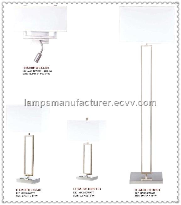UL Power Outlet Rocket Switch USA Hotel Lamp