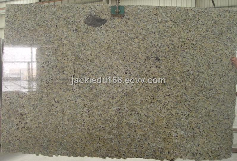 Yellow Butterfly Granite Slab Tile