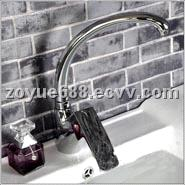 ZY3243  brass kitchen Goose water faucet