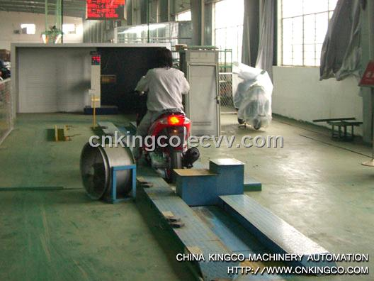 motor testing line / test system / testing equipment