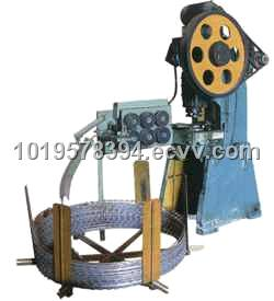 Razor Barbed Wire Machine (9 Strips)