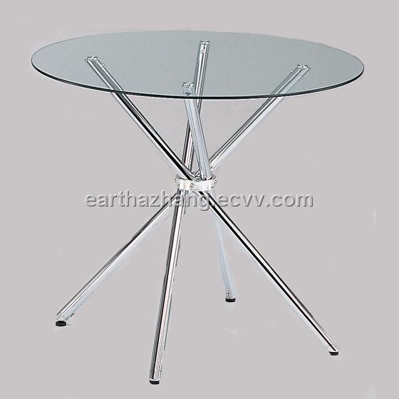 Round Tempered Gl Dining Table Xydt 131 From China