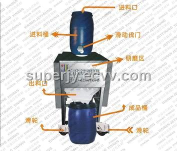 Grinding Machine for Rubber White Ink