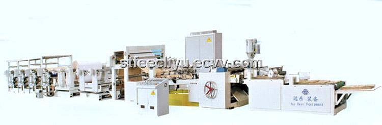 Paper Coated Tubing Machine