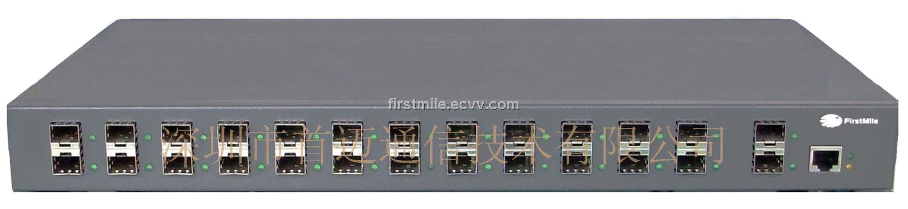 26 Gigabit Ports Managed Sfp Based Fiber Optic Ethernet