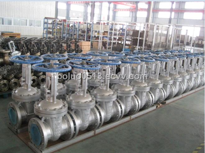 Carbon Steel Gate Valve With Flange