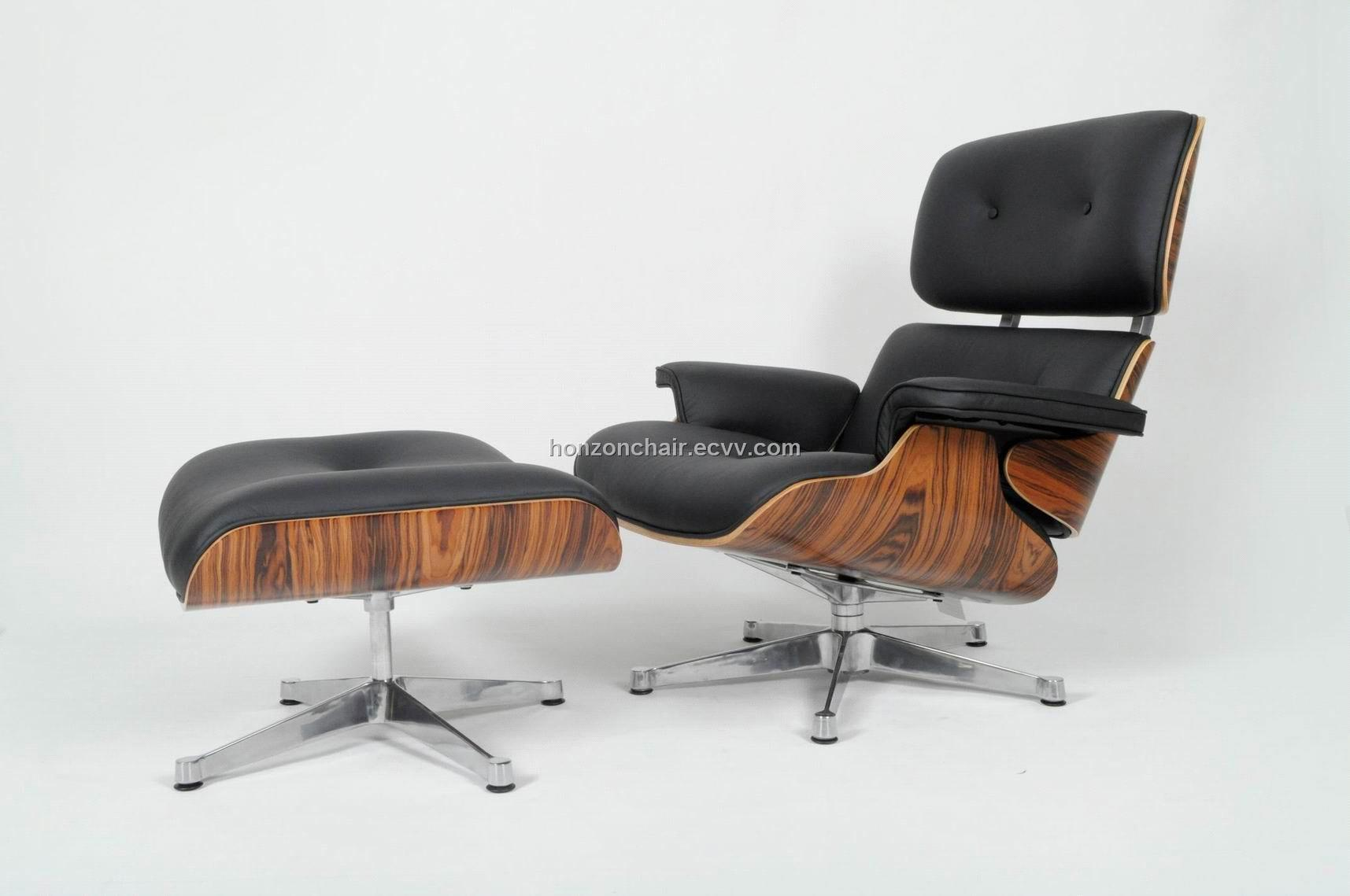 armchairs lounge reproduction chairs product ottoman eames set and occasional replica chair blk