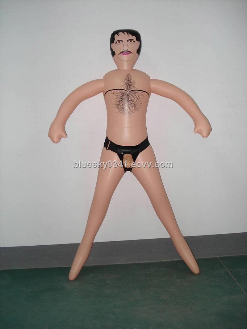 Blow up man sex toy