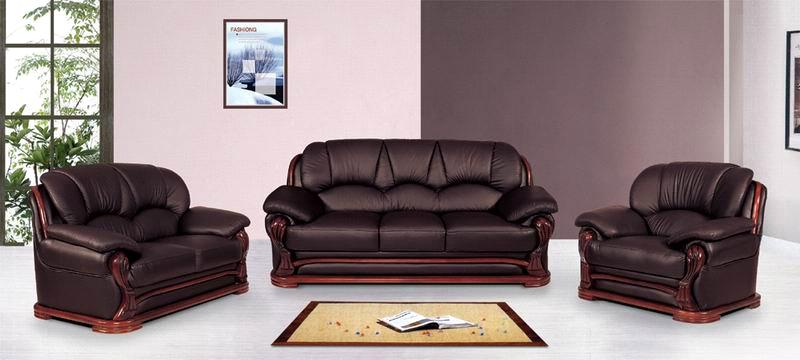 Shunde Leather Sofa Set Designs