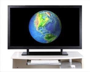 Super FHD Monitor, Resolution of 3840*2160,4-Full HD Display