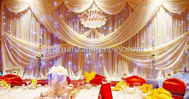 Tulle Organza Wedding Decoration 1