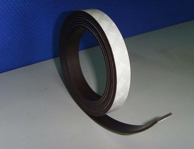Flexible Magnet Strip Or Sheets Or Roll Laminated With