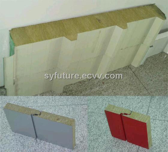 low cost rockwool sandwich panel for wall