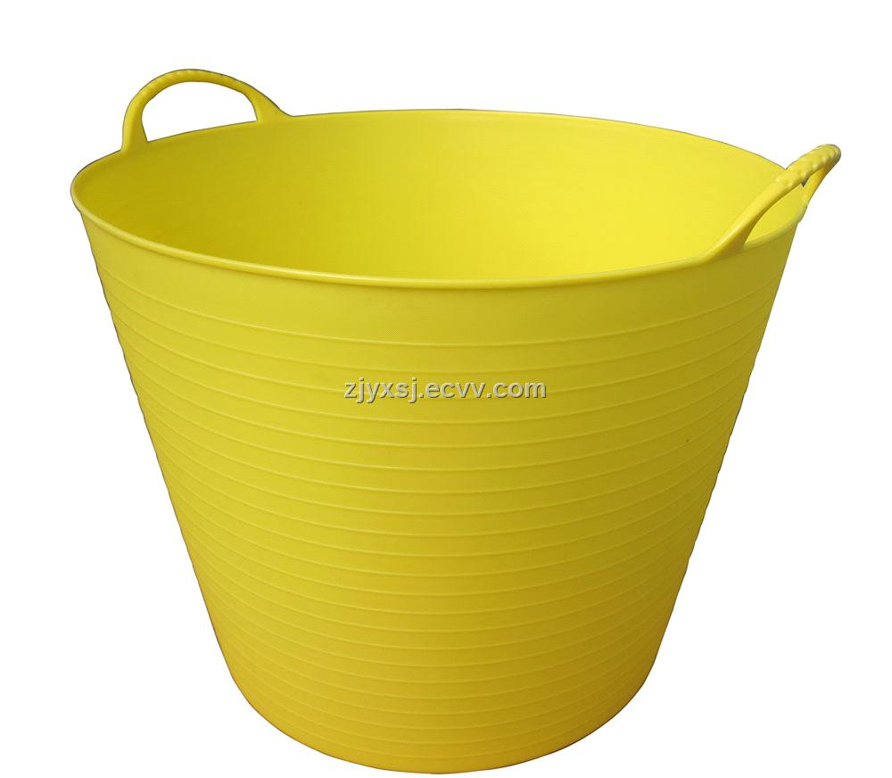 Plastic Flexible Tubtrugs,Flexible Bathing Basin,Garden Bucket