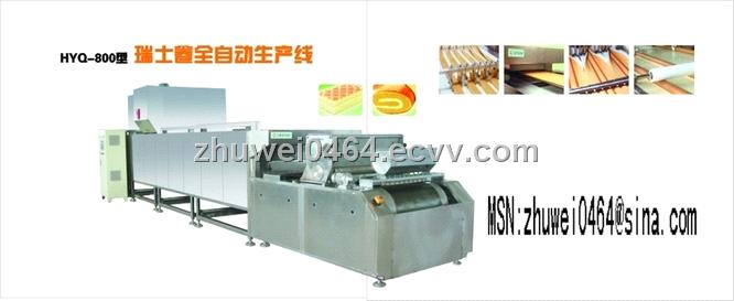 sell swiss roll cake line