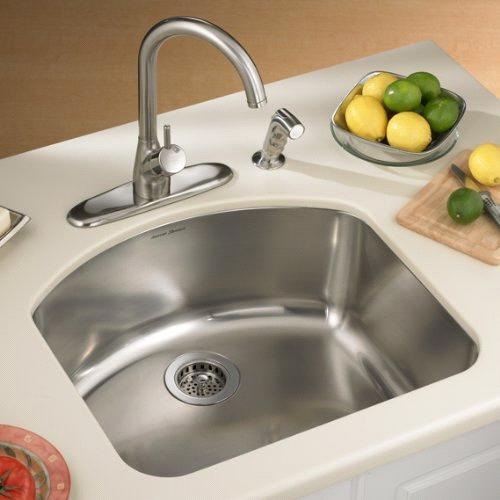 American Standard Undercounter Mount Single Bowl Kitchen Sink ...