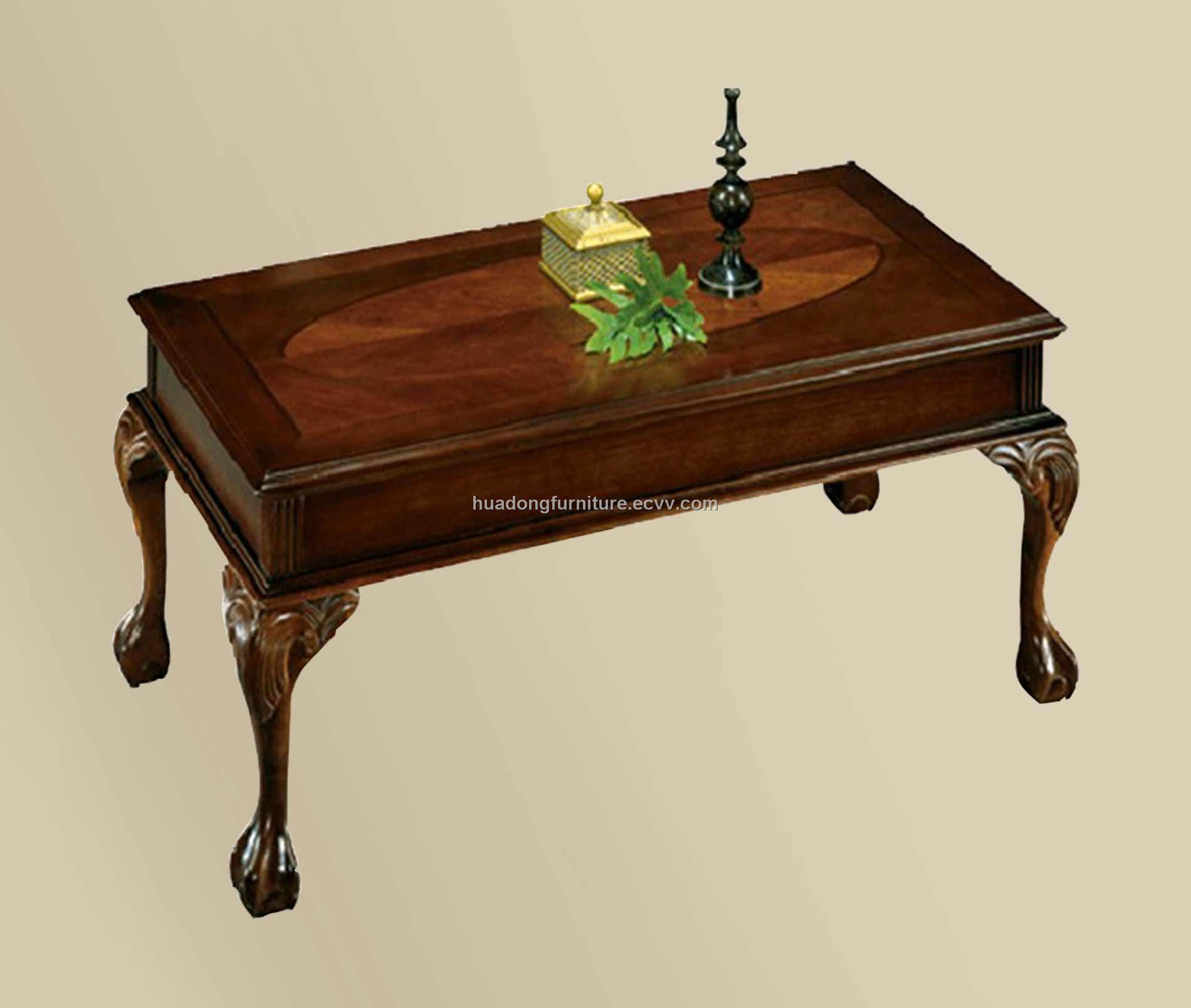 Antique Wooden Table Hdt003