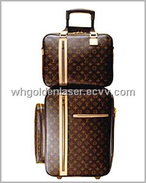 Artificial Leather Luggage CO2 Laser Cutting Machine