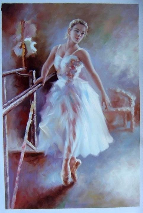 Ballerina Girl Painting From China Manufacturer