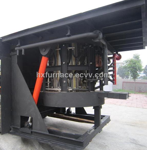 Cast Iron Melting Induction Furnace 1.5ton