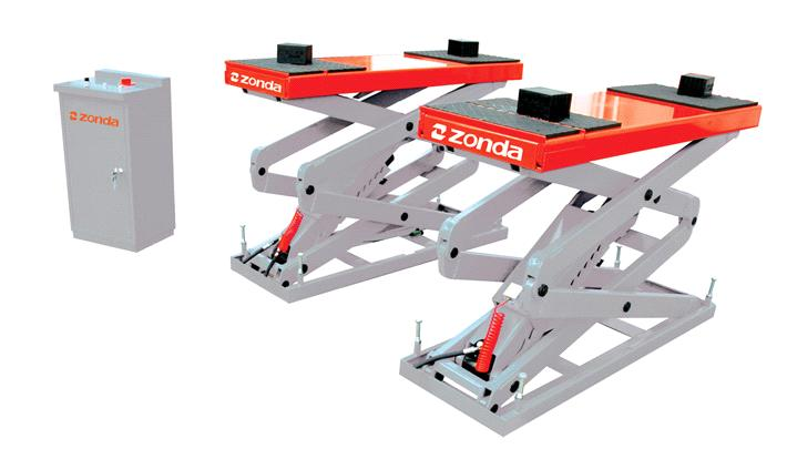 In Ground Car Lift : In ground scissor car lift zd qjy s purchasing souring