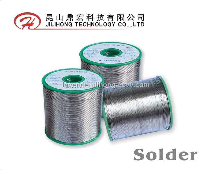 Lower temperature lead-free solder wire Sn96.5Ag3.0Cu0.5 purchasing ...