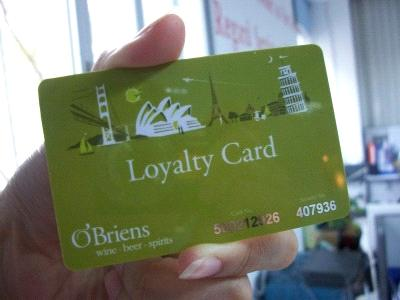 analysing the loyalty card as promotion