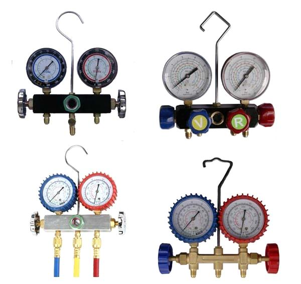 Manifold Sets for Refrigeration & Air Conditioners (Auto