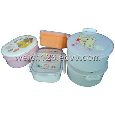 Mold Making Service for plastic lunchbox