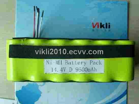 NiMH Battery,14.4V D9.5ah NiMH Rechargeable Battery Pack,Garden Tools Batteries