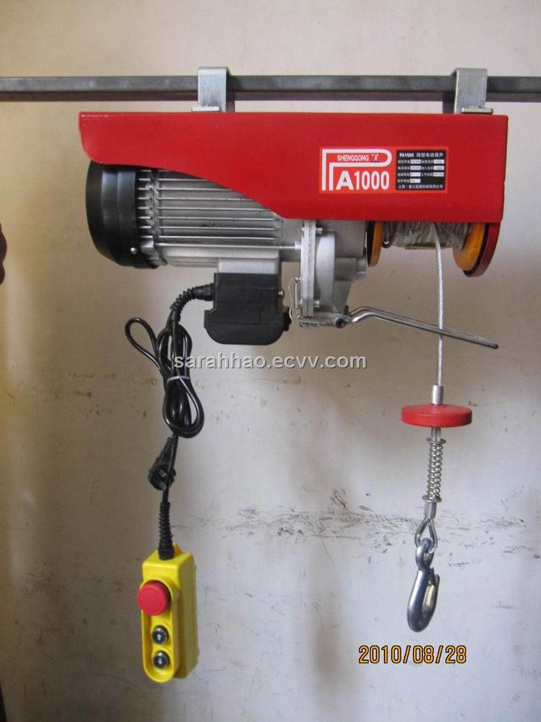 PA Electric wire rope hoist purchasing, souring agent | ECVV.com ...