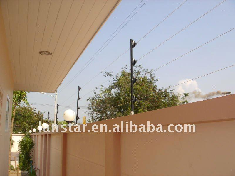 pulse electric fence for school villa residential area boundary security protection systems
