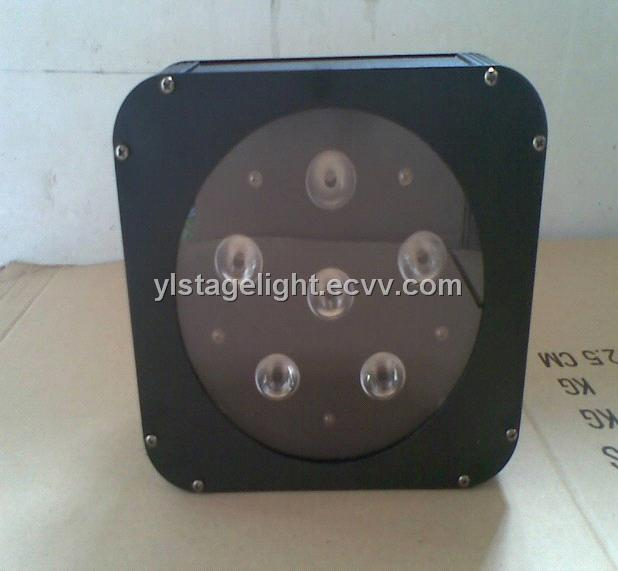 RGBA/W Flat led par can, 4 in 1 stage light factory