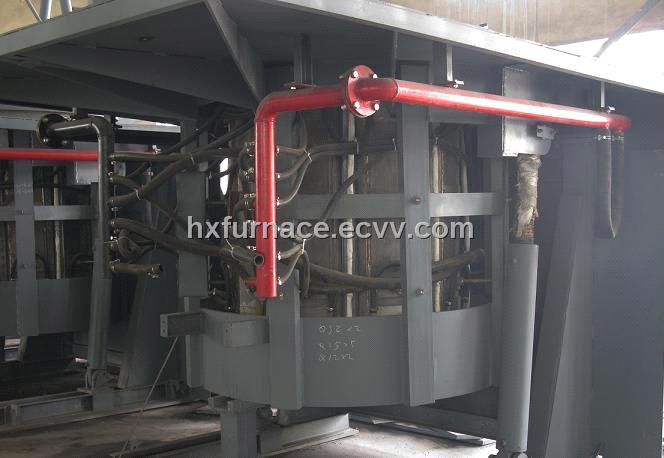 Steel Making Induction Furnace 10 Ton