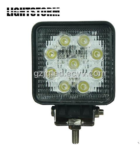 Super Bright 27W Truck Offroad LED Work Light Headlight