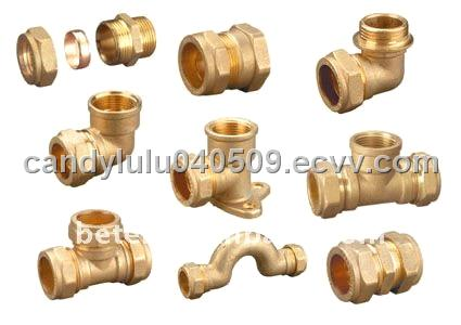 Compression fittings for copper pipe purchasing souring for Copper pipe cost