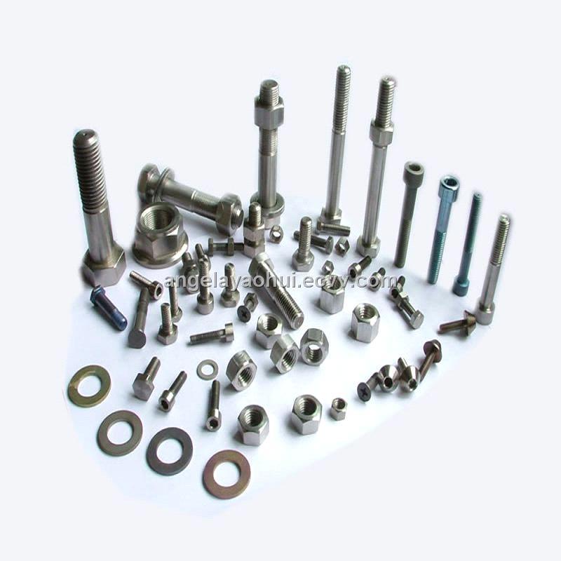 titanium screw,bolt,nut and washer