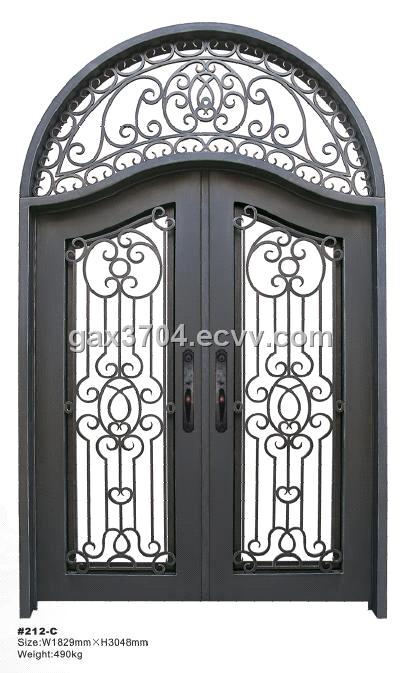 Wrought Iron Entry Doors Ht 212c Purchasing Souring Agent Ecvv