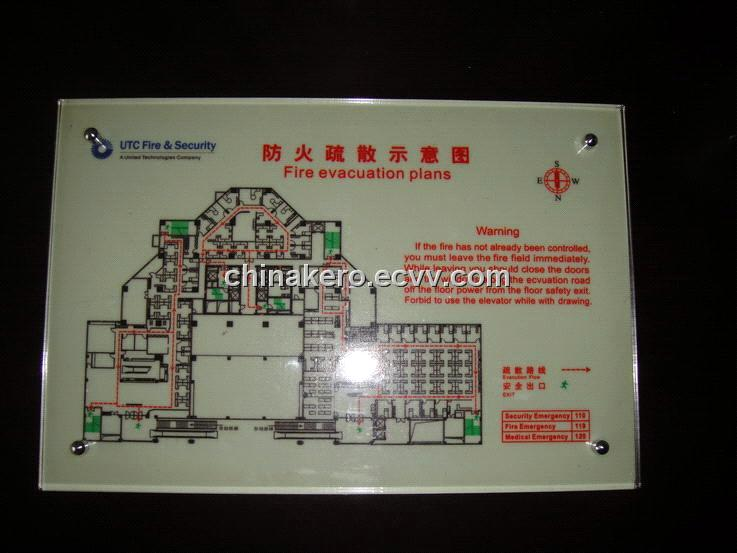 Fire Evacuation Plans Safety Signs