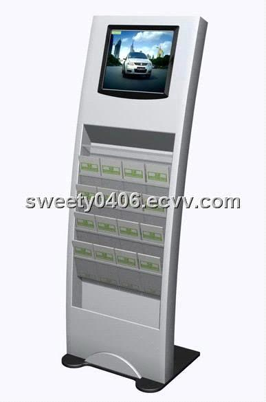 17 Inch Floor Standing LCD Advertising Player