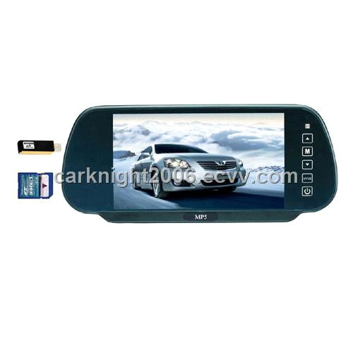 7 inch touch screen rear view mirror