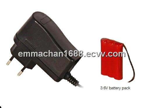 Battery pack charger 3.6V