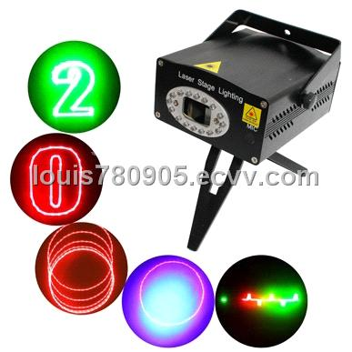 2-colors Mini Disco DJ Club Stage Light with Sound Active Function (NW-S-D010)  $61.72