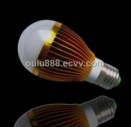 3W high-power Led bulbs with good quality cooling fins Hot Sale!