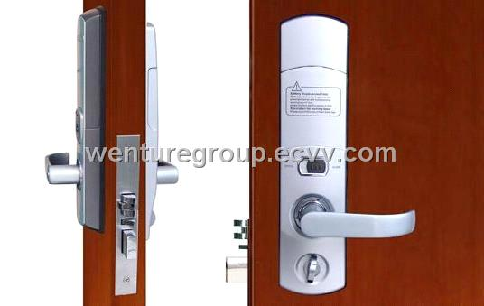 5 Latches Biometric Fingerprint Door Lock With Automatic