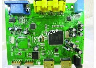 8 layer PCB assembly for Remote surveillance cameras