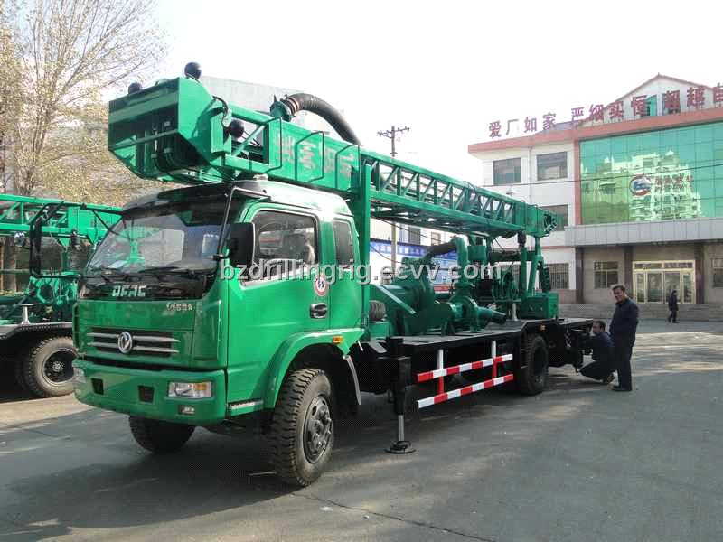 BZC-150A obverse-reverse circulation construction and water well drilling  rig