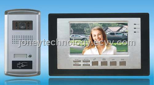 China Video Door Phone Set with Photo Taking / Viewing Function,Opened by Password /Ic Card