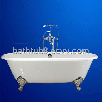 Chinese cast iron bathtub
